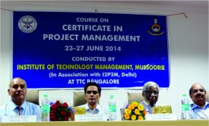 CIPM preparation training conducted for DRDO at TTC Bangalore
