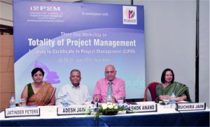 Three Day Workshop on Totality of Project Management