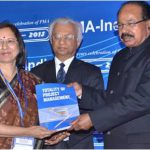 Her first book was released in 2013 by Dr. V. Moily, Hon'ble Union Minister of Petroleum, Government in India.