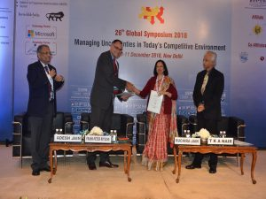 "December 11th, 2018 during the 26th Global Symposium on Project Management in New Delhi, CEPM  (India) signed a Memorandum of Understanding titled ""Driving forward project management excellence for the EPC industry in India"" with  ProjectTeam® (Germany)."