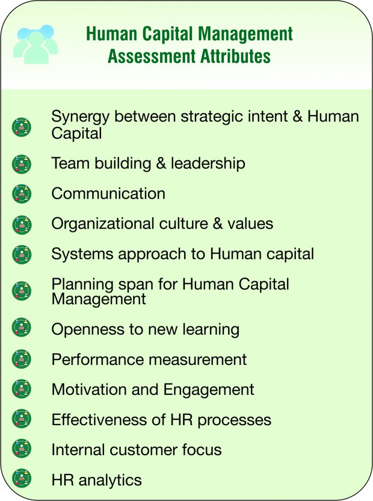 Human Capital Management Assessment Attributes