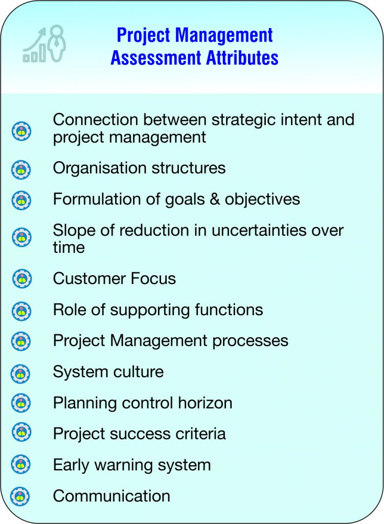 Project Management Assessment Attributes