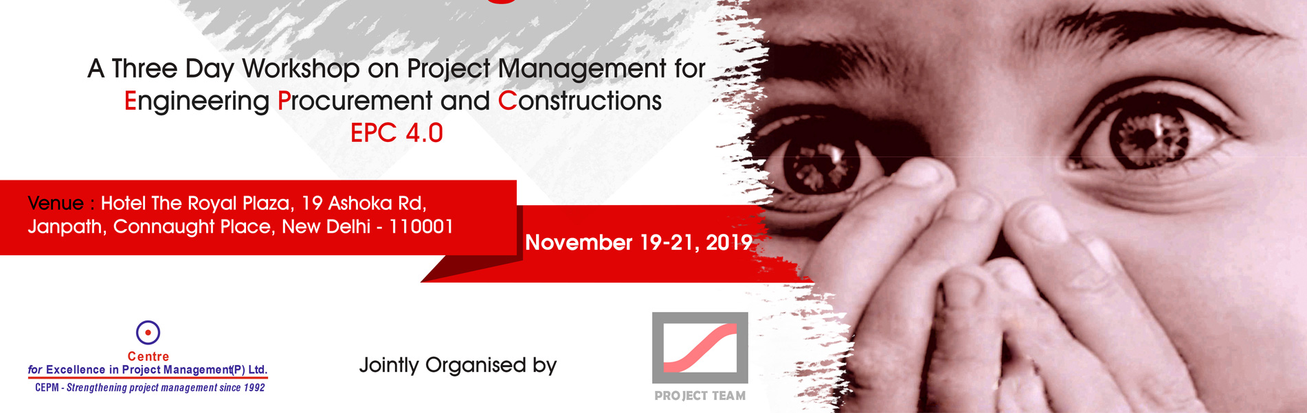 Project Management for EPC 19-21 November 2019