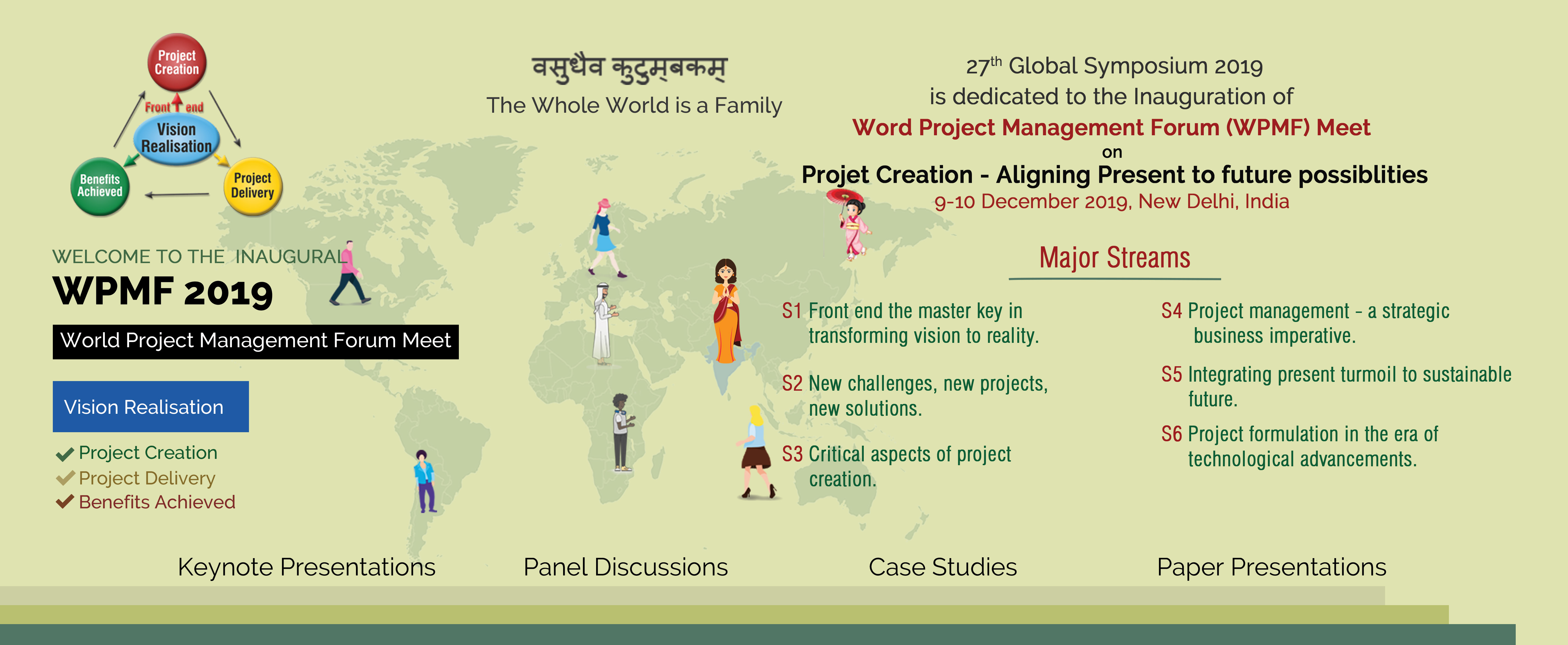 World Project Management Forum (WPMF) Meet, 9-10 December 2019, New Delhi, India